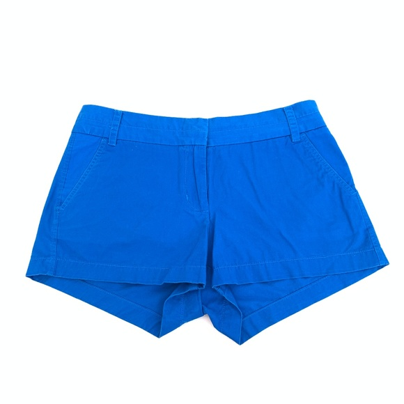 J. Crew Pants - J Crew Cotton Chino Shorts in Blue